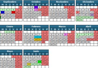 Calendario escolar 19/20